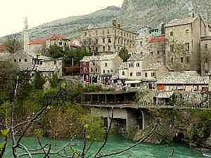 Mostar gamle by